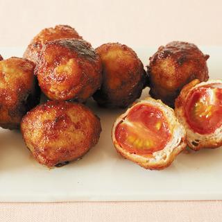 抗酸化と美肌をかなえる! ミニトマトの豚肉ロール