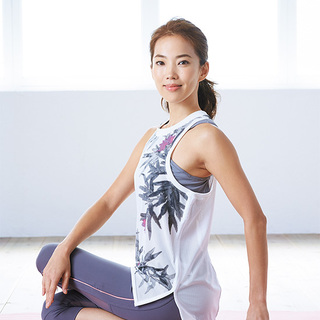 モデル菅井悦子さん「ヨガとトレーニングで、自分らしくいられる体に」【キレイになる活】