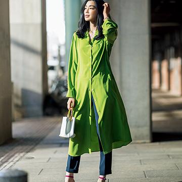 シャツでかなえるミラネーゼ風スタイル