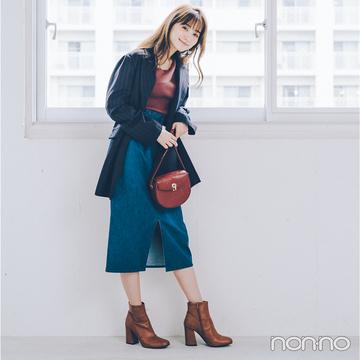 2019秋トレンド★ ショートブーツはベージュ&ブラウンでバランスアップが正解!