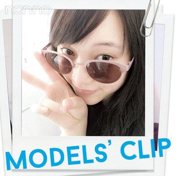 山田愛奈の夏のこだわり小物はコレ!【Models' Clip】