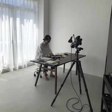 [富岡佳子 private life]連載撮影