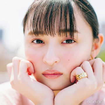 遠藤さくらが新色コスメをお見立て♡  大本命は「くすみピンク」!