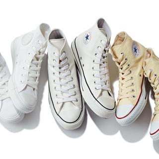 コンバースのスニーカー。白&カラーで、いま大人が選ぶべきは?