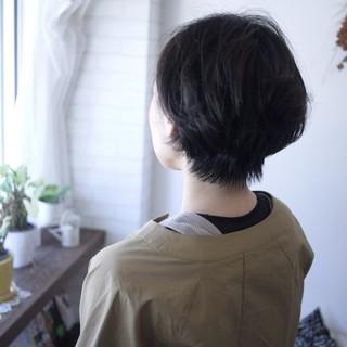 """""""ショート×パーマ""""で動きのある髪型に!_1_3"""