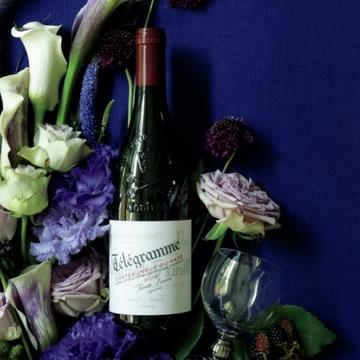 秋に飲みたくなるワイン「シャトーヌフ・デュ・パプ テレグラム」【飲むんだったら、イケてるワイン】