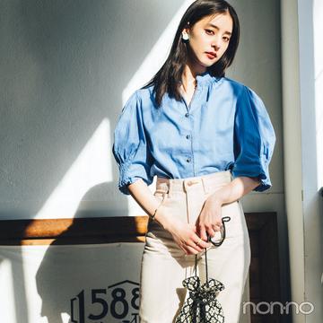 新木優子の私服コーデ★ この夏お気に入りの3デニムを着回し!