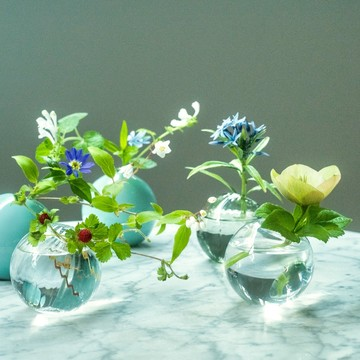 支援にもつながる!素敵な「花器」のプロジェクト