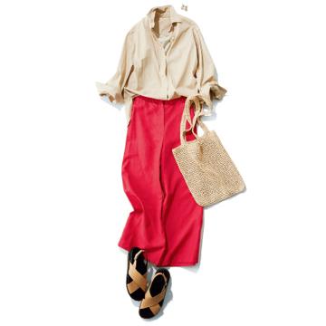鮮やかなカラーパンツの着こなし方が知りたい!【主役級パンツQ&A】