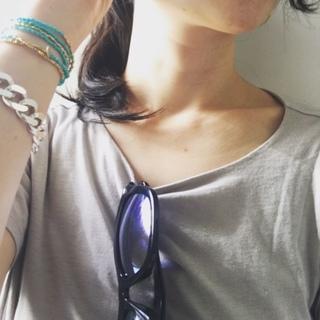 """簡単「重ねづけブレス」にハマってます!Loving """"Layered Bracelets""""_1_2-3"""