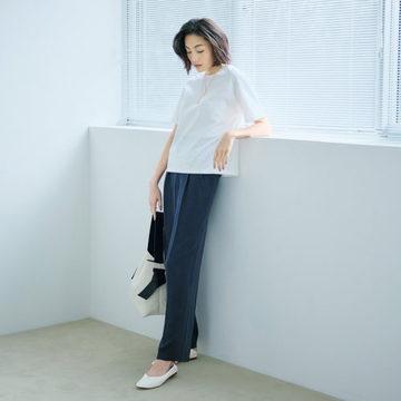 スタイリスト大沼こずえさんプロデュース!今から夏まで活躍のパンツ&フラット靴