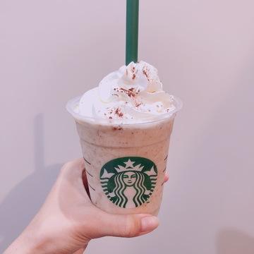 【本日発売‼︎】スタバのチャンキークッキーフラペチーノ♡