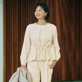 あったか素材だからたくさん着込まなくても暖かく快適!M7days for Officeのセットアップ&スカート