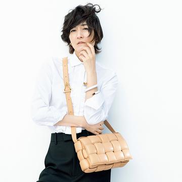 「ボッテガ・ヴェネタ」の名品バッグはカジュアルかつエレガンス【富岡佳子の愛すべき名品バッグ】