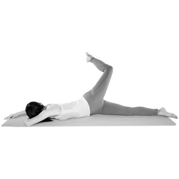 臀部の深層筋を鍛え、おしりの形を整える「足クレーン」【おしり筋伸ばし】