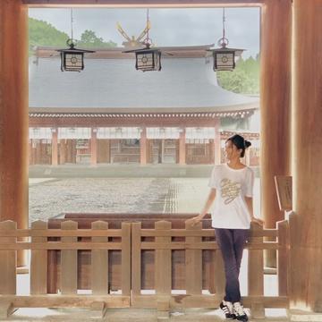 GU Tシャツで橿原神宮へ