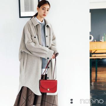 新木優子はゆったりCPOジャケットで旬のビッグシルエットを満喫♡【毎日コーデ】