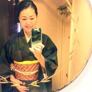大島紬で下町さんぽ