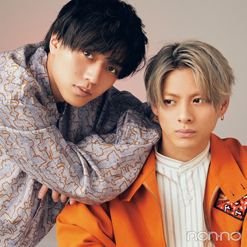 待望のKing & Princeの連載スタート! 第1回は平野紫耀さん&永瀬廉さん、最強のふたりが登場。