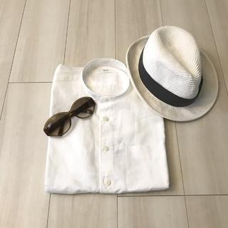ユニクロメンズで見つけた『半袖リネンシャツ』がサラッと快適‼︎