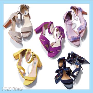 サンダル2019★ ヒールストラップ+靴下のミックスコーデで差をつける!