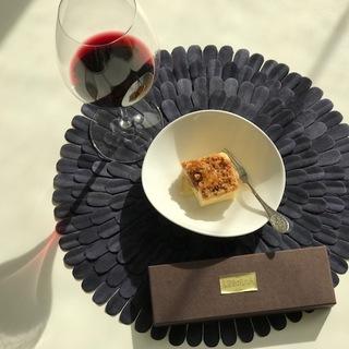 ワインに合う大人チーズケーキ