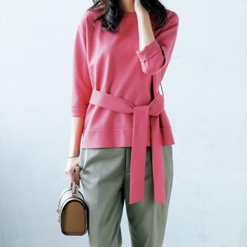 """秋ファッションにまずは取り入れたい、""""こっくり濃密色""""コーデ"""