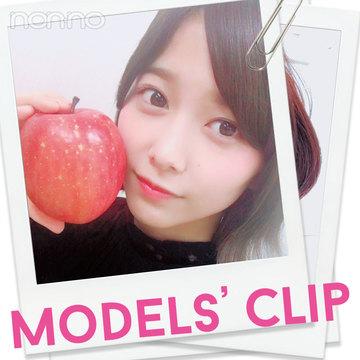 新ノンノモデル渡邉理佐(欅坂46)のマイブームフルーツ♡ 【Models' Clip】