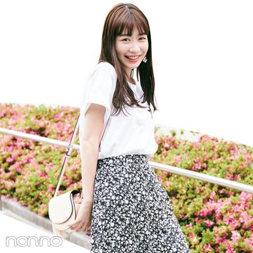 人気急上昇中! ノンノモデル岡本夏美の夏おしゃ&夏メイク