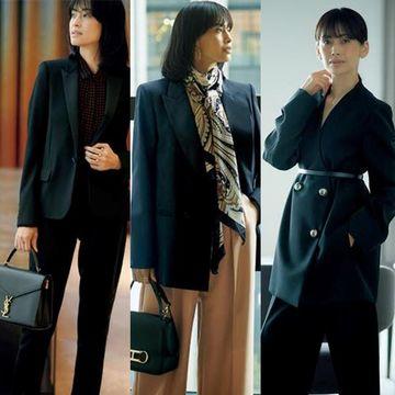 【働く50代女性に似合う「黒ジャケット」】理想の一着を見つけて!