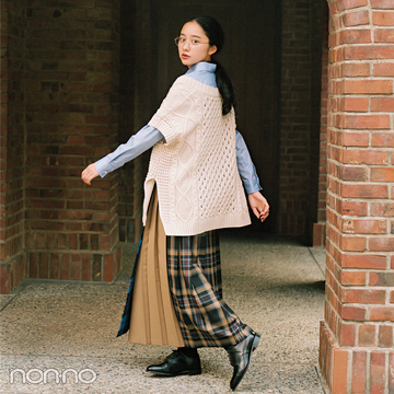 おしゃれで話題の女優・堀田真由がモデルに挑戦★ 英国ガールに変身!