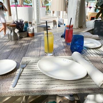 幸せな朝食とリゾートコーデ 〜ドバイ⑩〜_1_4-2