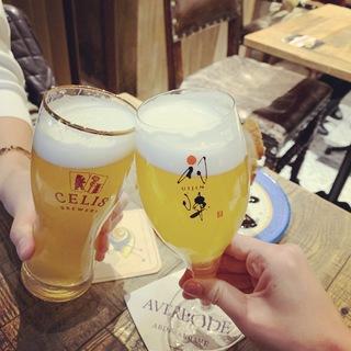 クラフトビールで新年に乾杯!