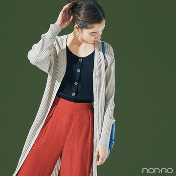 新木優子は初夏のロング&ロングレイヤードでトレンドを楽しむ♡【毎日コーデ】