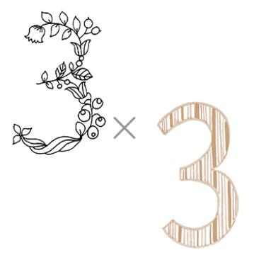 3×3 (気楽な年)