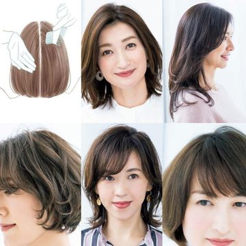50代に似合う前髪とは?前髪あり・なし「似合う前髪の作り方」【50代髪型人気ランキングTOP10】