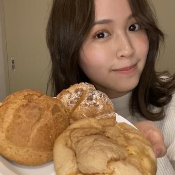 コンビニ3社 シュークリーム食べ比べ