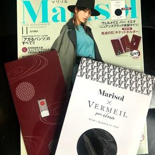 Marisol11月号付録【鬼滅の刃 チケットホルダー】のご紹介!