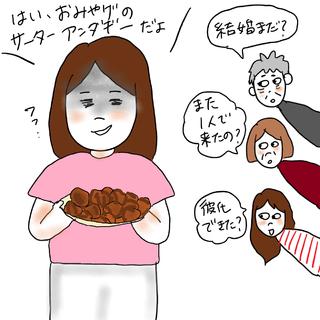 【ケビ子のアラフォー婚活Q&A】vol.1「お盆が怖い!婚活中の帰省」
