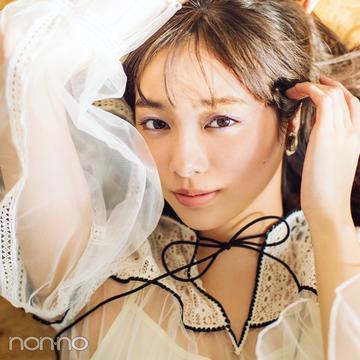新川優愛が天使すぎる♡ 春トレンドは揺れ&透けがキーワード!