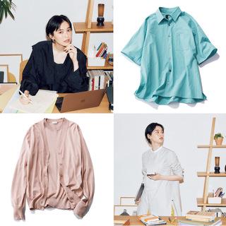 2021春夏トレンドの【着映えトップス】で、オンライン会議もおしゃれに攻略!|40代ファッション