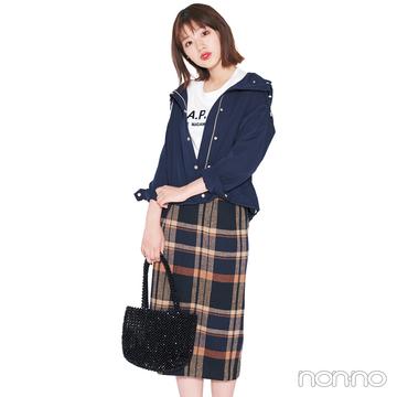 2019秋冬トレンド★ タイトロングスカートが1枚あれば、一気に旬顔!