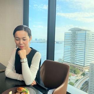 今年4月オープン日本発ブランドのホテル「メズム東京」へ女子会ランチ