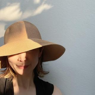 プチプラでゲット♪大人の麦わら帽子。