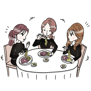 恋人がいない人のイベント、韓国の「ブラックデー」とは?【ケーポペンのつぶやき 】