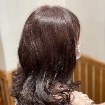 白髪をとばすヘアカラー