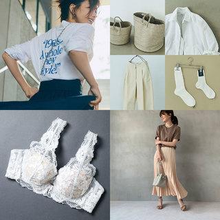 プチプラTシャツで選ぶべき色から涼しく着られる機能素材セットアップまで【ファッション人気記事ランキングトップ10】
