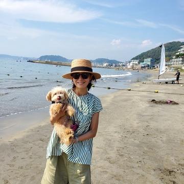 愛犬ミルクと夏休み