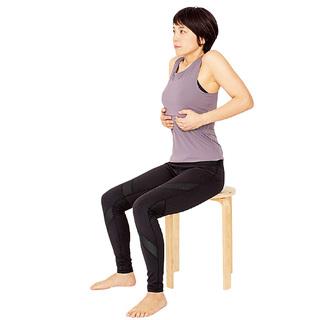 下垂した内臓を引き上げる!腹式呼吸で瘦せやすい体に【2度と太る気がしないダイエット】