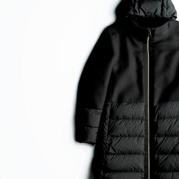高機能と美シルエットがかなえる大人の冬スタイル